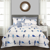 Lush Decor Rowley Birds 7 pc. Quilt Set