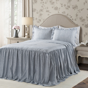 Lush Decor Ticking Stripe 3 pc. Set Bedspread