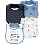 Carter's Infant Boys Sun Teething Bibs 4 pk.