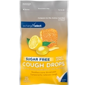 Exchange Select Sugar Free Cough Drops, 25 Drops