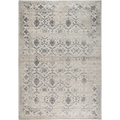 Rizzy Home Panache Natural Medallion Floral 5 ft. 3 in. X 7 ft. 6 in. Rug