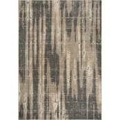 Rizzy Home Valencia Dark Taupe Abstract Rug