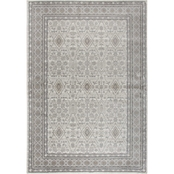 Rizzy Home Panache Beige Oriental Distress 5 ft. 3 in.  X 7 ft. 6 in. Rug