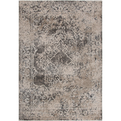 Rizzy Home Valencia Taupe Broken Medallion Area Rug