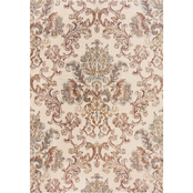 Rizzy Home Bristol Rust Damask Area Rug