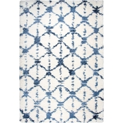 Rizzy Home Adana Diamonds Shag Area Rug