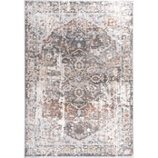 Rizzy Home Bristol Dark Teal Central Medallion Area Rug