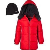 Ixtreme Boys Puffer Jacket with Hat