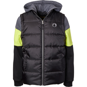 Ixtreme Boys Colorblock Twofer Vest Jacket