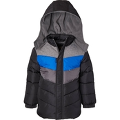 Ixtreme Boys Colorblock Puffer Jacket