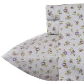 Laura Ashley Petite Fleur Heather 4 pc. Sheet Set