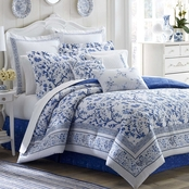 Laura Ashley Charlotte China Bonus Comforter Set