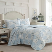 Laura Ashley Kenna Quilt Sham Set