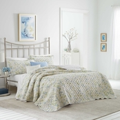 Laura Ashley Fawna Cotton Quilt Set