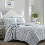 Laura Ashley Amberley Bright Quilt Set