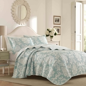Laura Ashley Venetia Bright Quilt Set