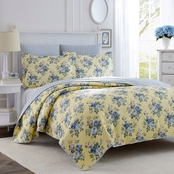 Laura Ashley Linley Quilt Set