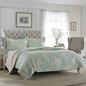 Laura Ashley Brompton Serene Quilt Set