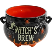 Gibson Home Halloween Witches Brew Calderon Soup Candy Bowl