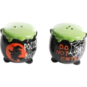 Gibson Home Halloween Figural Salt and Pepper Shakers