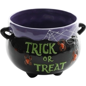 Gibson Home Trick or Treat Halloween Calderon Soup Candy Bowl