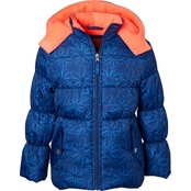 Pink Platinum Girls Puffer Jacket