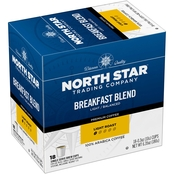 Trilliant  North Star Breakfast K-Cup Coffee 18 ct.