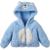 Wippette Infant Boys Bear Wubby Fuzzy Jacket