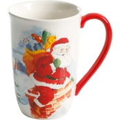 Gibson Home 22 oz. Santa's Gift Tall Latte Cup