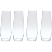 Gibson Home 4 pc. Stemless Champagne Flutes