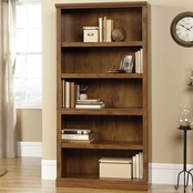 Sauder Select 5 Shelf Split Bookcase