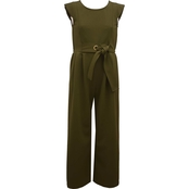 Bonnie Jean Girls Textured Jumpsuit
