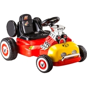 KidTrax Mickey Mouse 6V Roadster Racer Electric Ride On