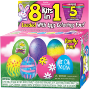 Fun World Egg Deco 8 Kits in 1