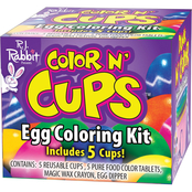 Fun World Color N' Cups Egg Coloring Kit