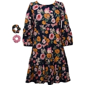 Bonnie Jean Girls Floral Knit Dress