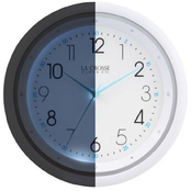 La Crosse 10 in. Wall Clock with Night Vision