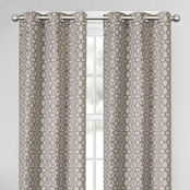 Maytex  Chandler Easy Hang Light Filtering Window Curtain 40 x 63 in.