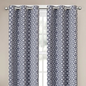 Maytex Smart Curtains Chandler Easy Hang Light Filtering Window Curtain 40 x 84 in.