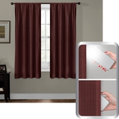Maytex Julius Smart Curtains Ultimate Light Blocker 100% Blackout Window Panel