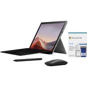 Microsoft Surface Pro 7 12.3 in. Intel Core i5 1.1GHz 8GB RAM 128GB SSD Bundle
