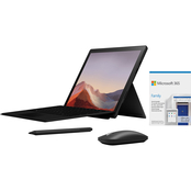 Microsoft Surface Pro 7 12.3 in. Intel Core i7 1.3GHz 16GB RAM 256GB SSD Bundle