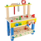 Hey! Play! Wooden Toy Workbench