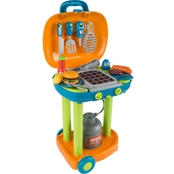 Hey! Play! Grill BBQ Food and Tools Playset