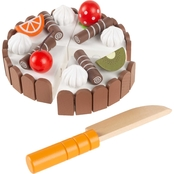 Hey! Play! Pretend Play Birthday Cake Kids Wood Magnetic Toy