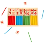 Hey! Play! Montessori Math Manipulatives Kids Learning Toy
