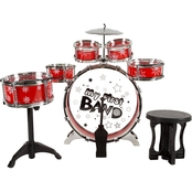 Hey! Play! Toy Drum Set