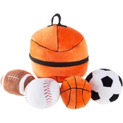 Hey! Play! My First Sports Bag Playset with 4 Balls and Case