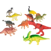 Hey! Play! Toy Dinosaur 10 pk. Figure Set