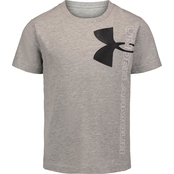 Under Armour Toddler Boys Split Logo Tee